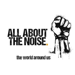 All About The Noise square logo the world around us